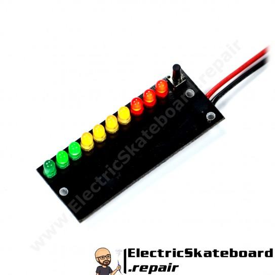 Voltage gauge 6S Li-po/Li-ion